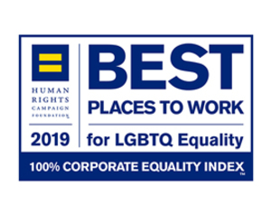 Recognized As A Leading Employer For Lgbtq Equality For Fourth Consecutive Year